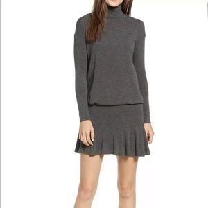 NWT Bailey 44 Gray Anastasia Sweater Dress